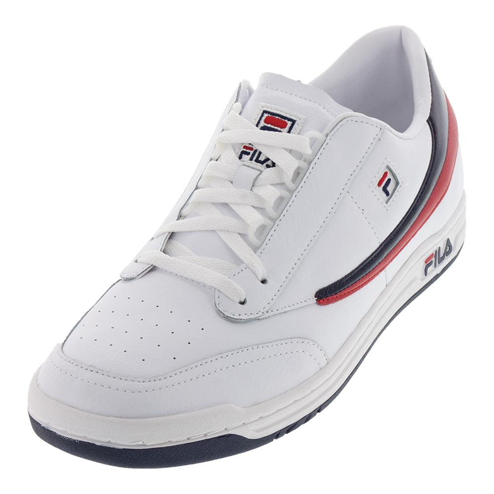 0337f5dc3591 Men s Original Tennis Shoes White And Navy