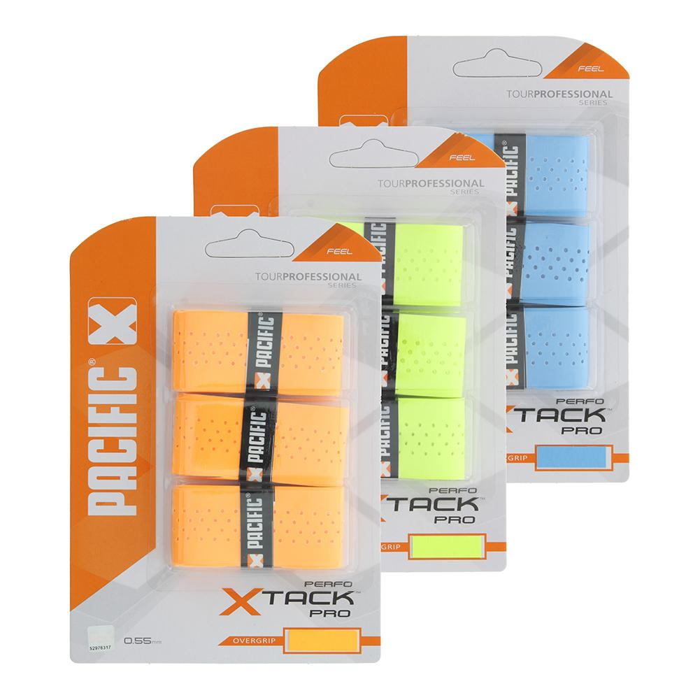X Tack Pro Perforated Tennis Overgrip 3 Pack