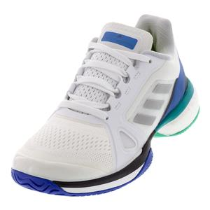 Women`s Stella McCartney Barricade Boost Tennis Shoes White and Stone