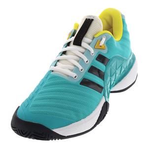 Juniors` Barricade 2018 Tennis Shoes Hi-Res Aqua and Legend Ink