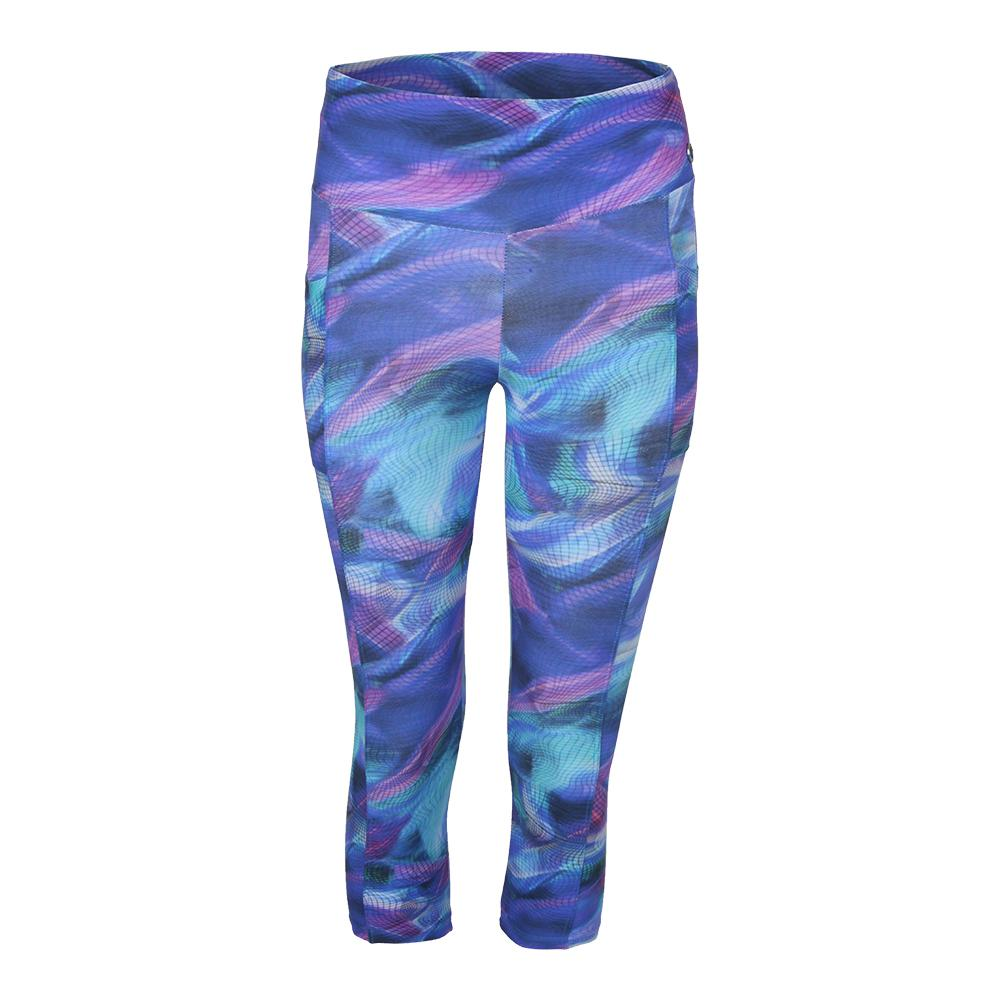 Women's Escape Full Tennis Legging Print