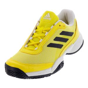 Juniors` Barricade Club Tennis Shoes Shock Yellow and Legend Ink
