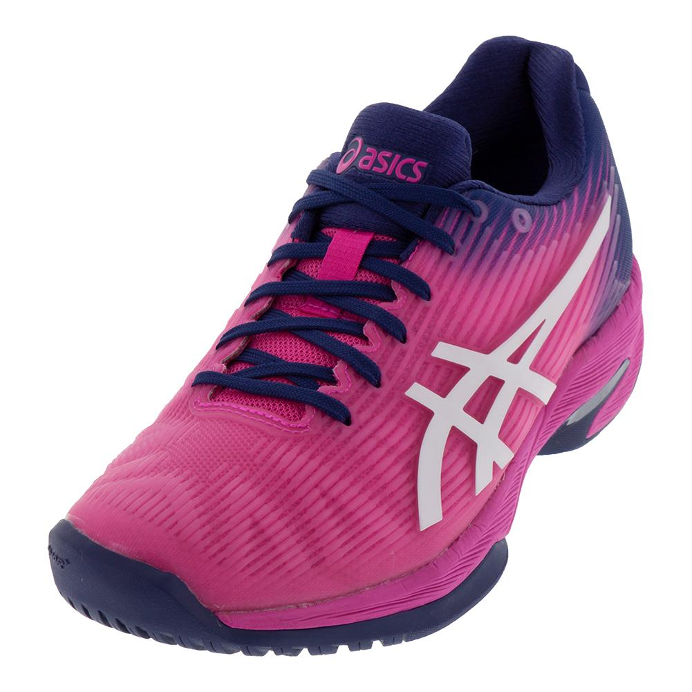 Women's Solution Speed Ff Tennis Shoes Pink Glow And White
