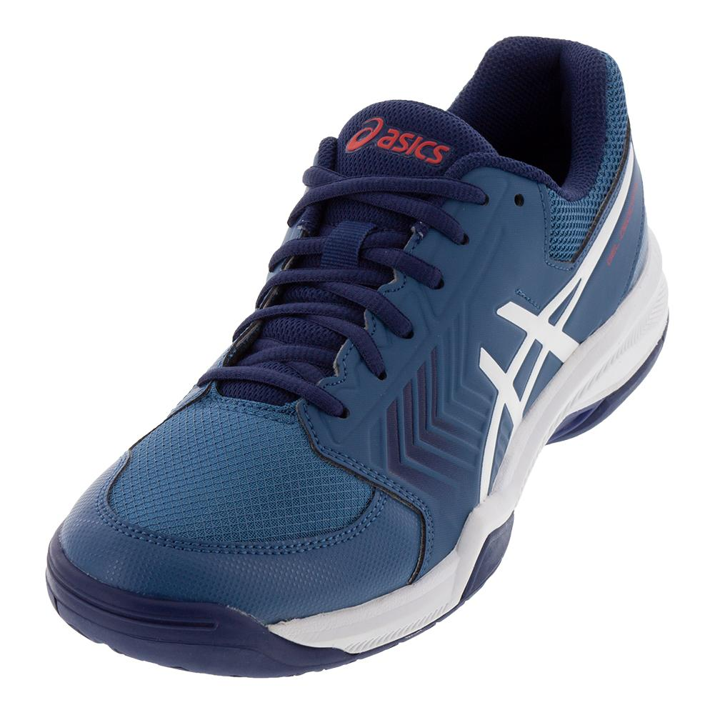 Men's Gel- Dedicate 5 Tennis Shoes Azure And White