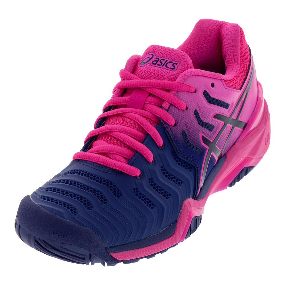Women's Gel- Resolution 7 Tennis Shoes Blue Print