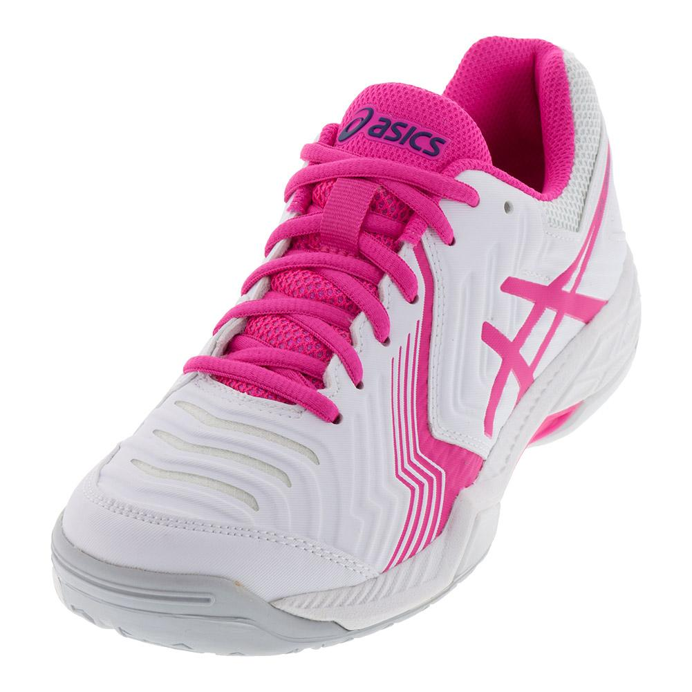 Women's Gel- Game 6 Tennis Shoes White And Pink Glo