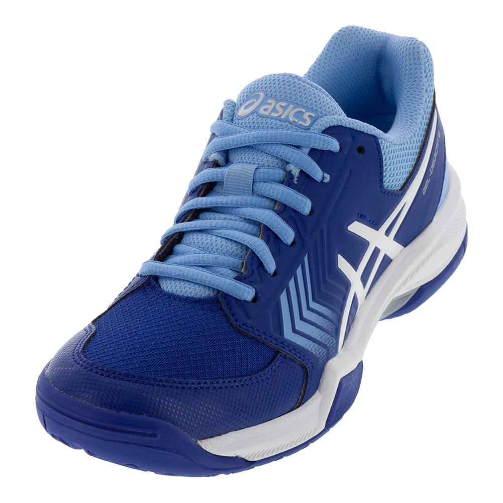 Women's Gel- Dedicate 5 Tennis Shoes Monaco Blue And White
