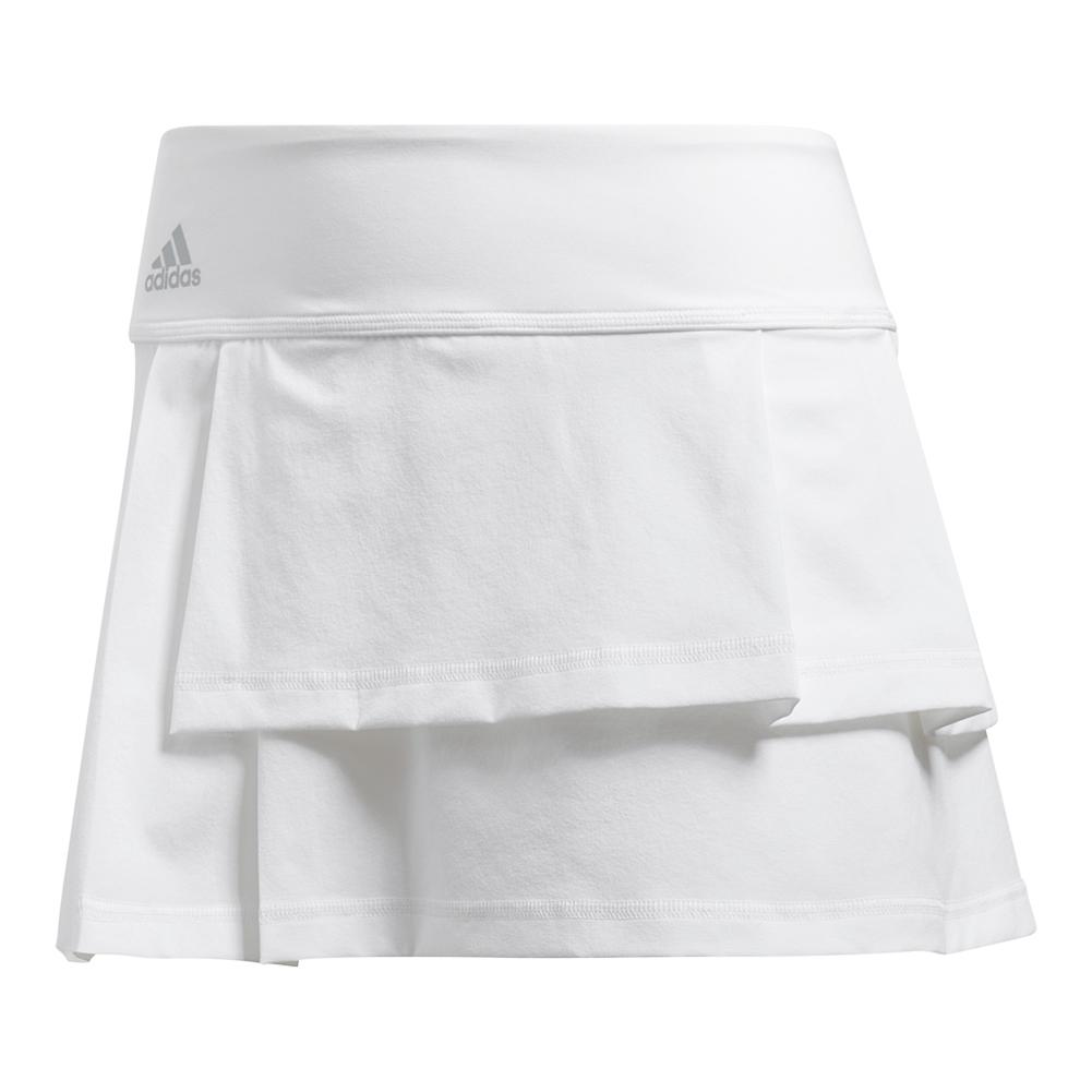 3d0537f521 Adidas Women's Advantage Layered Tennis Skirt White