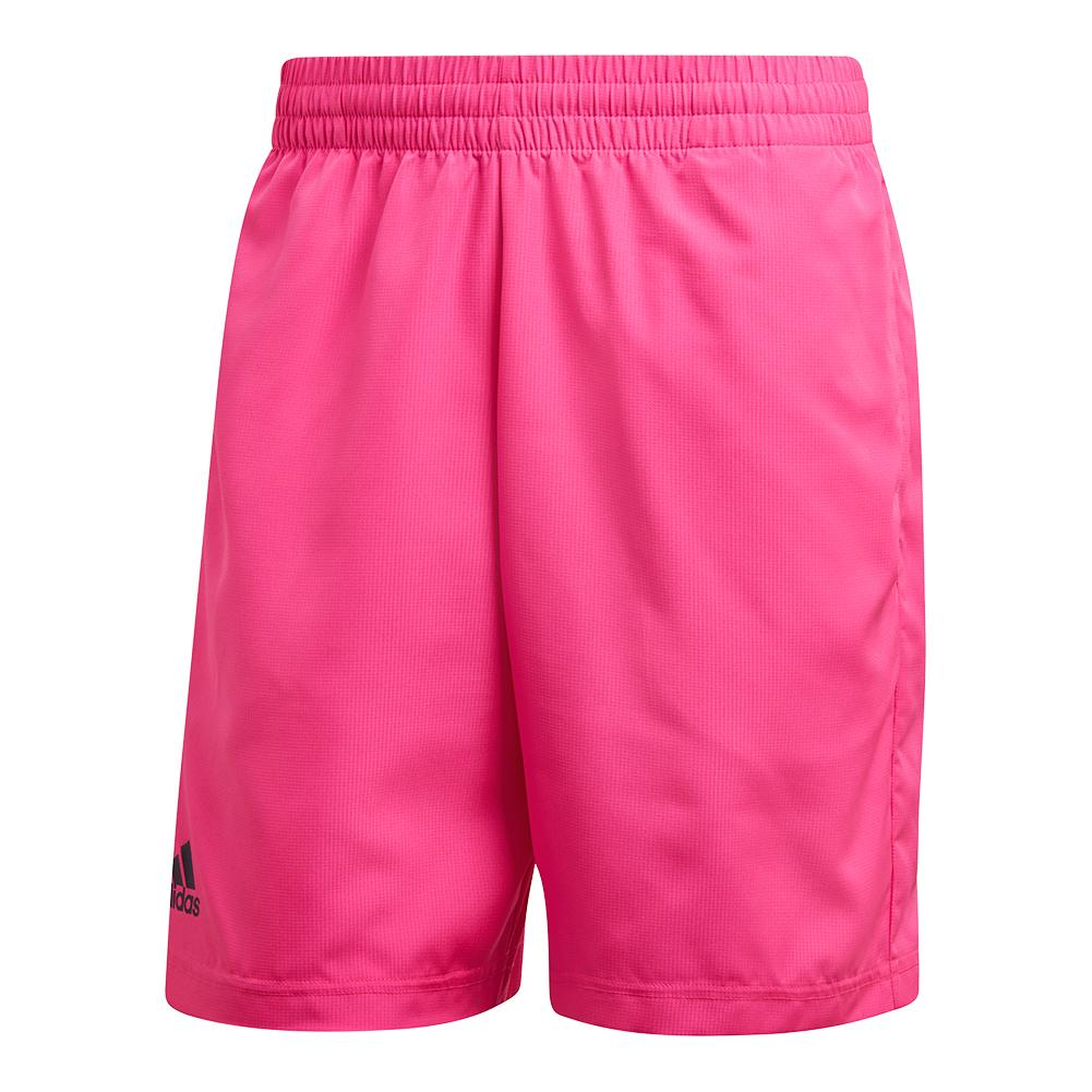 Men's Club Bermuda Tennis Short Shock Pink