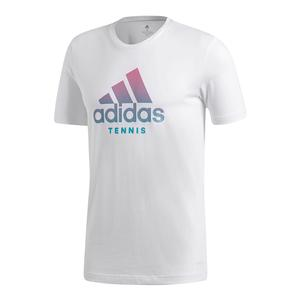 Men`s Tennis Badge of Sport Tee White
