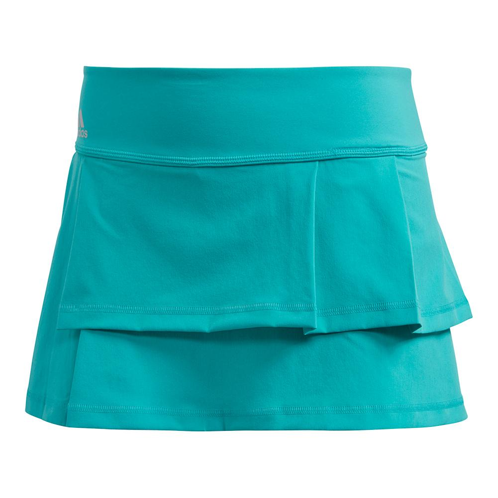 Women's Advantage Layered Tennis Skort Hi- Res Aqua