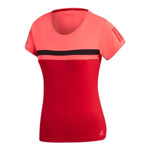 Women`s Club Tennis Tee Flash Red