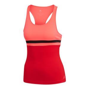 Women`s Club Tennis Tank Flash Red