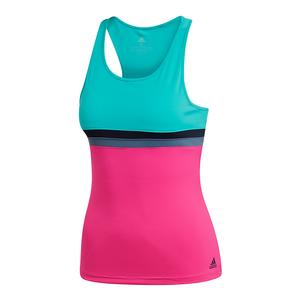 Women`s Club Tennis Tank Hi-Res Aqua