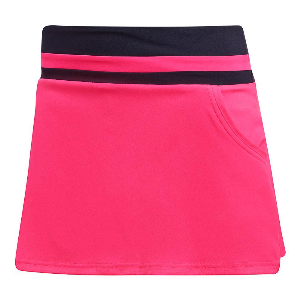 Women's Club Tennis Skort Shock Pink
