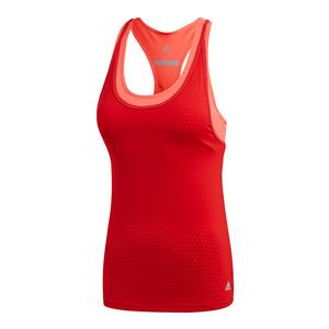 Women`s Advantage Strappy Tennis Tank Scarlet