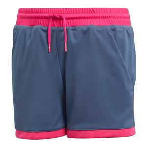 Girls` Club Tennis Short Tech Ink