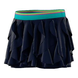 Girls` Frilly Tennis Skort Legend Ink