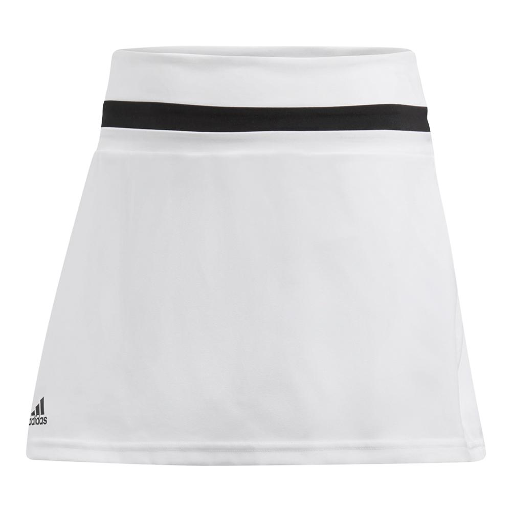 Girls ` Club Tennis Skort White