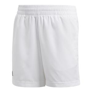 Boys` Club Tennis Short White