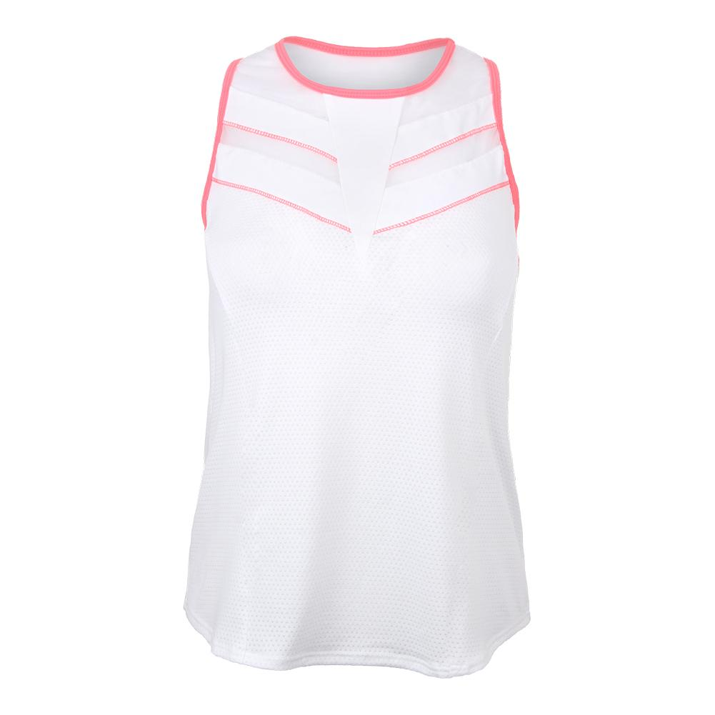 Women's Jolt Tennis Tank White