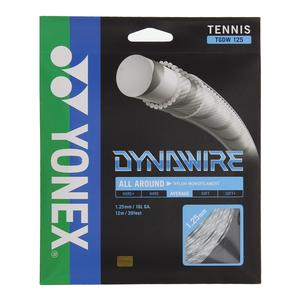 Dynawire Tennis String White and Silver