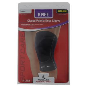 Closed Patella Knee Sleeve Medium
