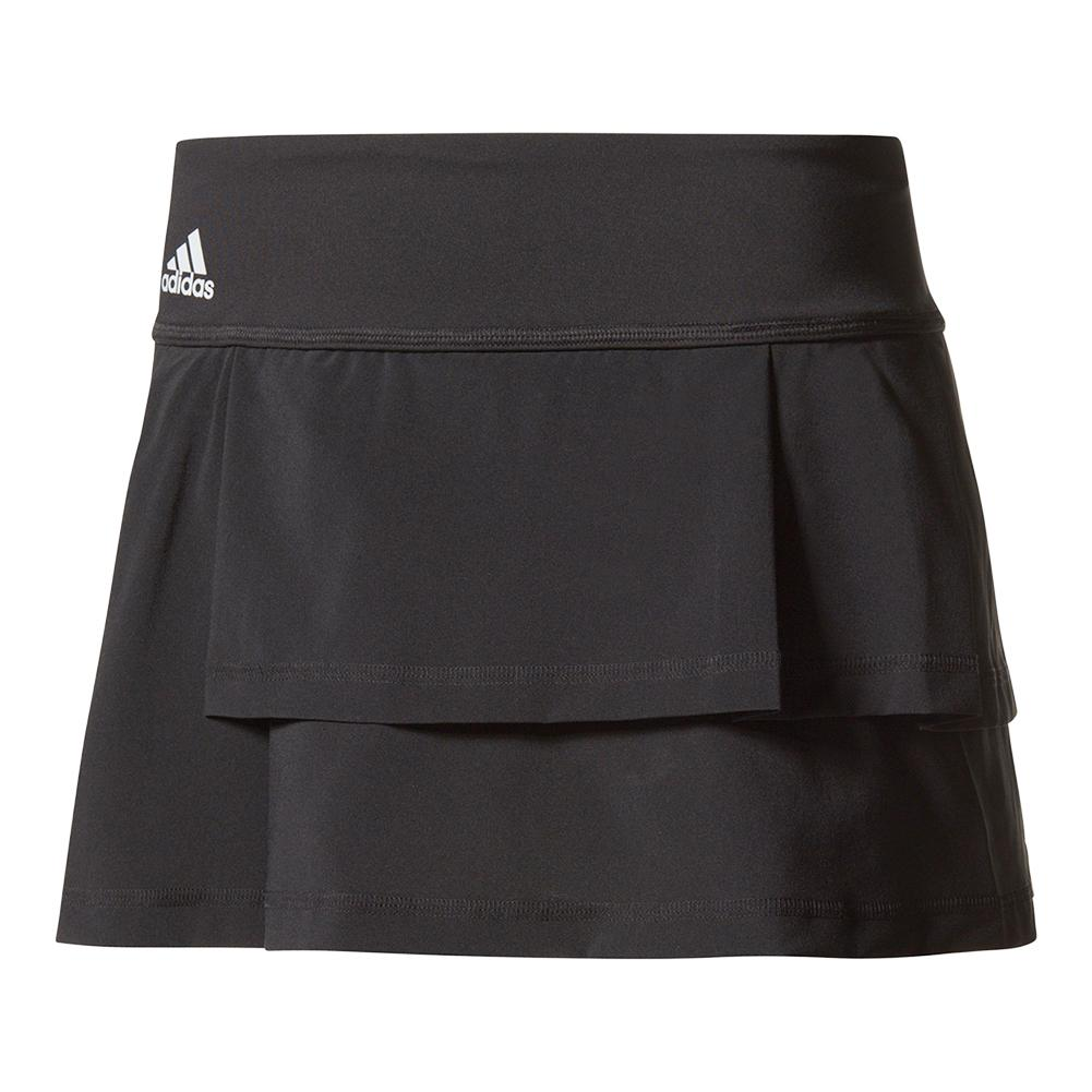 Women's Advantage Layered Tennis Skirt Black