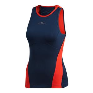Women`s Stella McCartney Tennis Tank Night Indigo and Core Red