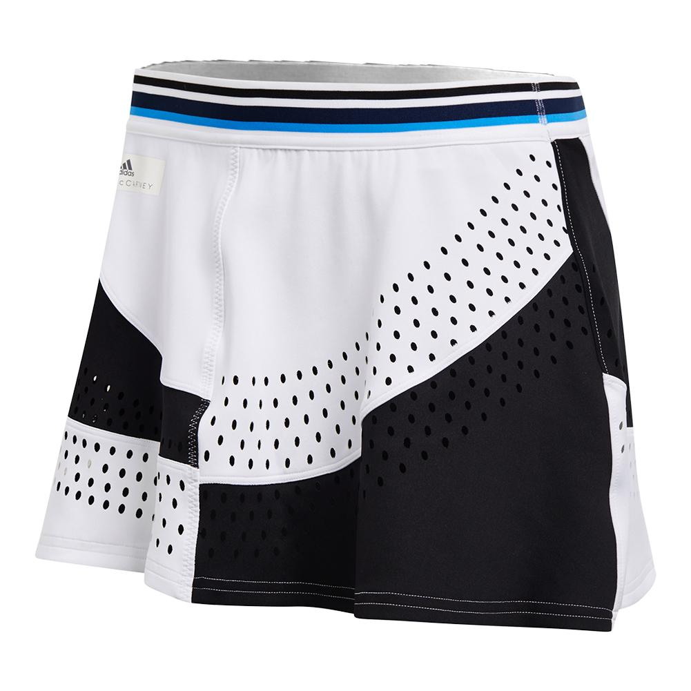 Women's Stella Mccartney Tennis Skort White And Black