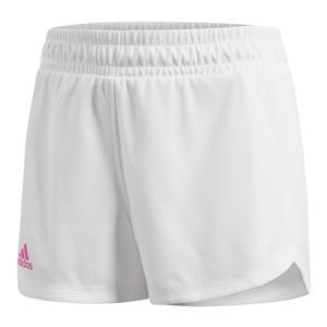 Women`s Seasonal 3 Inch Tennis Short White