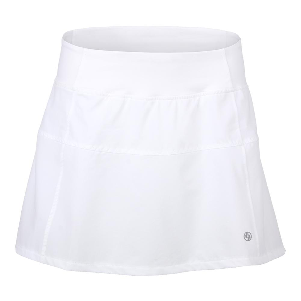 Women's Deuce Tennis Skort White