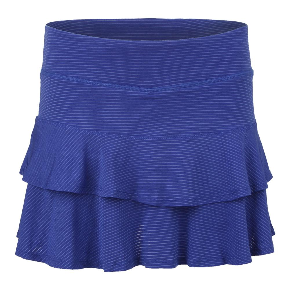 Women's Match Tennis Skort Royal Blue