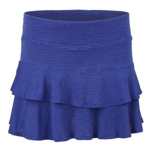 Women`s Match Tennis Skort Royal Blue