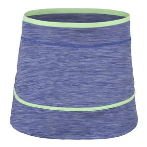 Women`s Sharp Tennis Skort Royal Blue and Paradise Green
