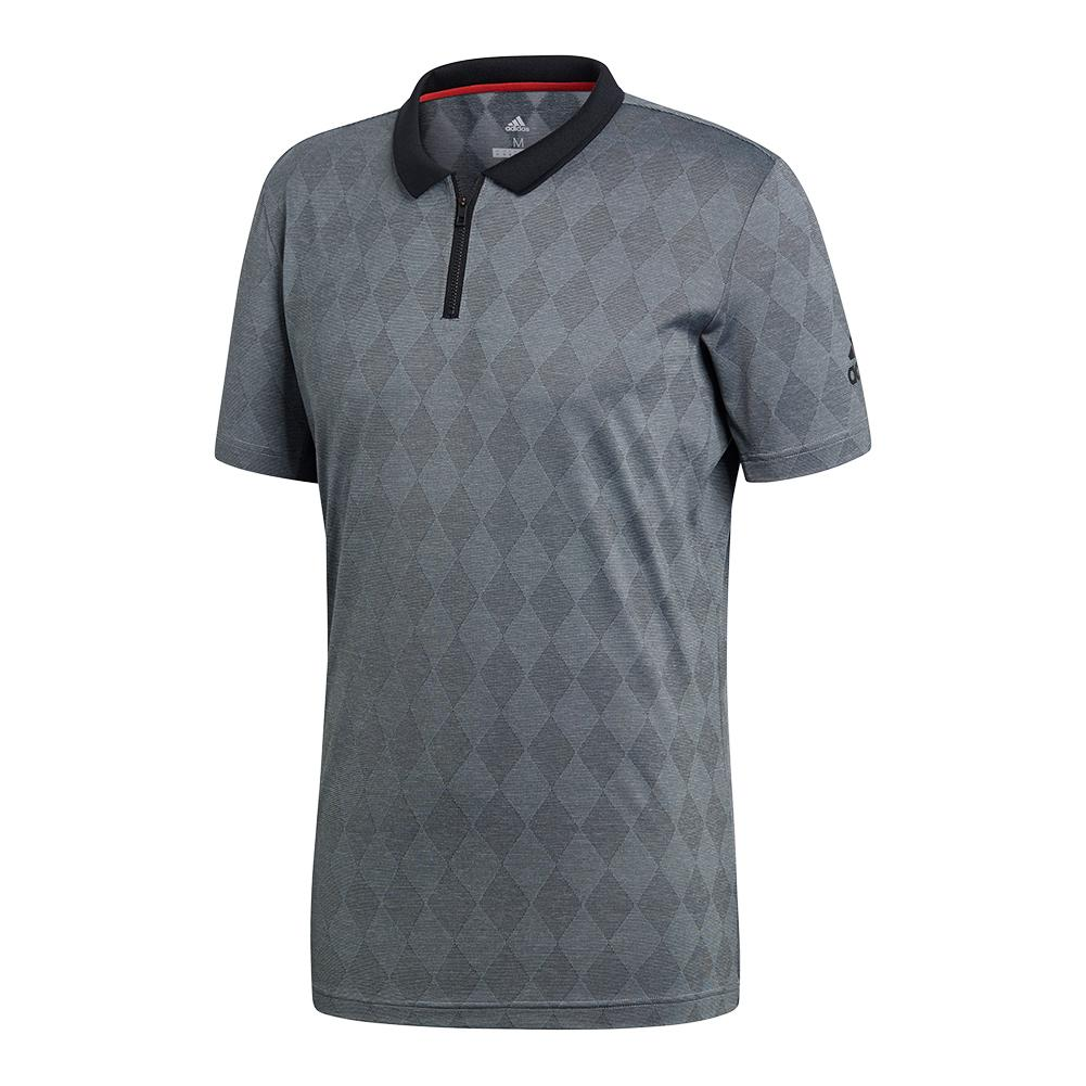 Men's Barricade Tennis Polo Black