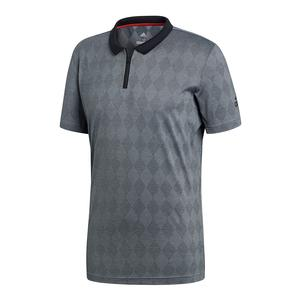 Men`s Barricade Tennis Polo Black