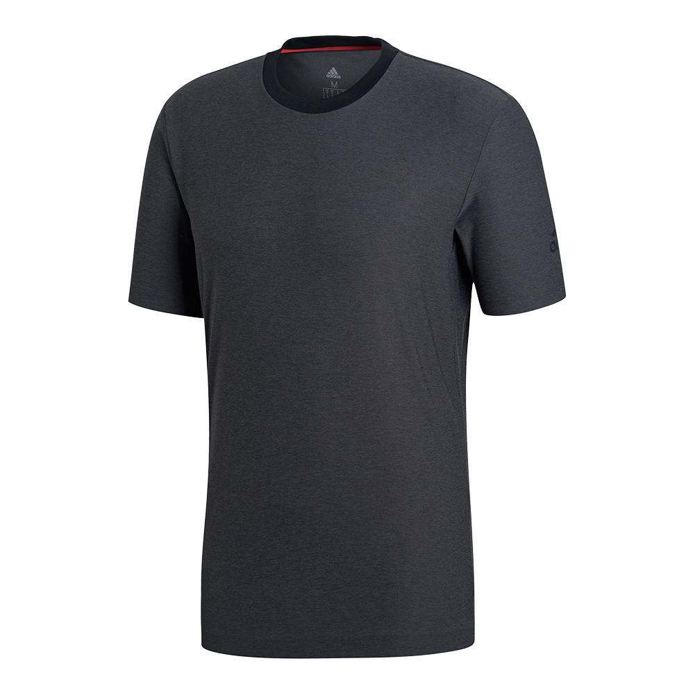 Men's Barricade Tennis Tee Black Heather