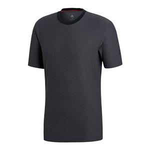 Men`s Barricade Tennis Tee Black Heather