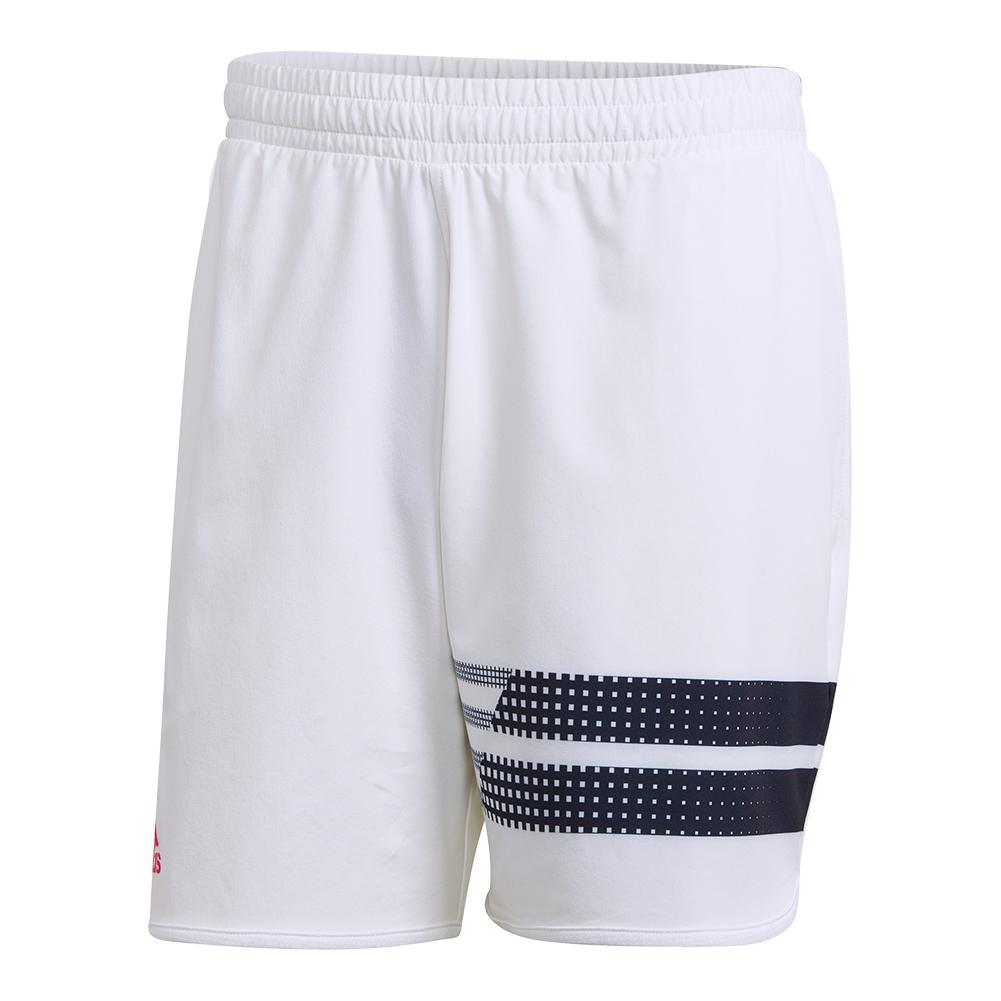 Men's Seasonal Tennis Short White