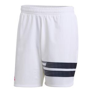 Men`s Seasonal Tennis Short White