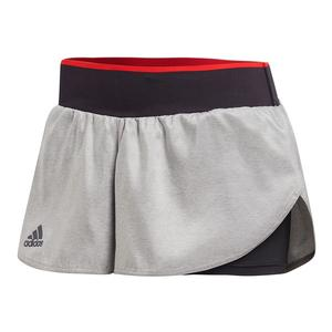 Women`s Barricade Tennis Short Gray One and Black