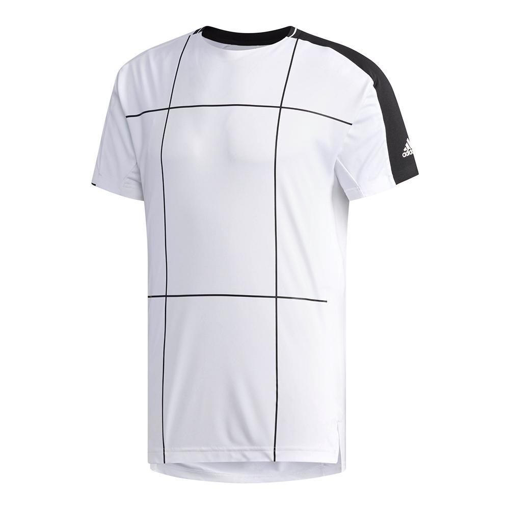 Men's Club Tennis Tee White
