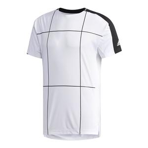 Men`s Club Tennis Tee White