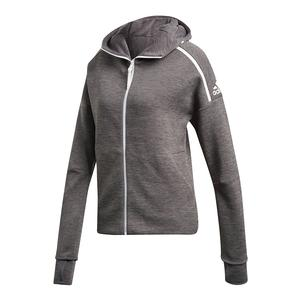 Women`s ZNE Tennis Hoodie Dark Gray Heather
