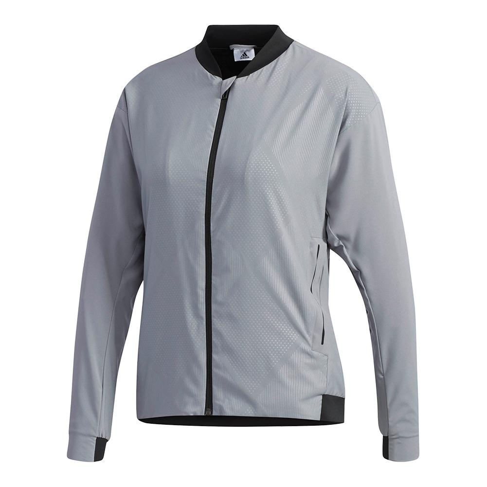 Women's Barricade Tennis Jacket Gray