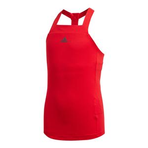 Girls` Barricade Tennis Tank Scarlet