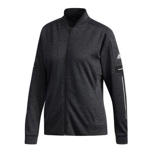 Women`s Club Knit Tennis Jacket Black