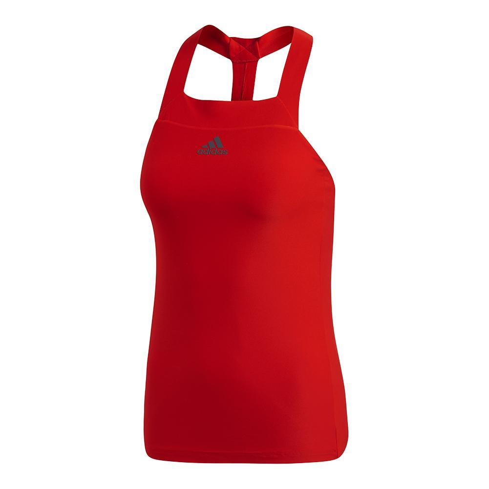 Women's Barricade Tennis Tank Scarlet