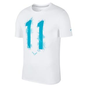Men`s Rafa 11 Tennis Tee White
